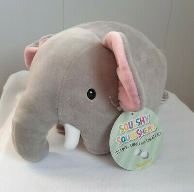 $ CDN46 • Buy Rare Squishmallow Squishy SquooShems  Elephant New With Tags Kelly Toys 10  Long