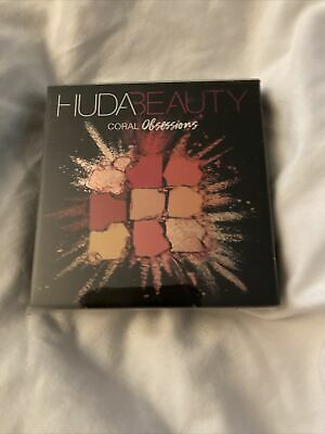 AU16.78 • Buy Huda Beauty Coral Obsessions Eyeshadow Palette