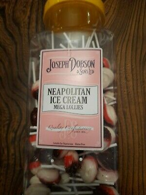 Sweets Dobsons Neapolitan Ice Cream. Mega.lollies • 9.75£