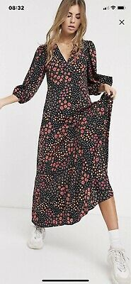 AU25 • Buy ASOS  Flower Print Dress   , New