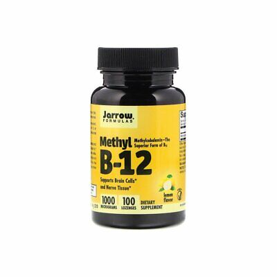 Vitamin B12 Methyl 1000mcg (100 Lozenges) Methylcobalamin Jarrow Formulas • 16.08£