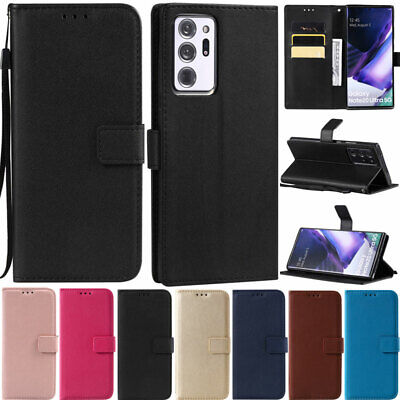 $ CDN9.05 • Buy Book Wallet Leather Flip Case Cover For Samsung A12 A42 A52 A51 A21S S21 S20 S10