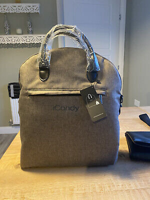 I Candy Lime Taupe 3 Position Changing Bag Brand New • 100£
