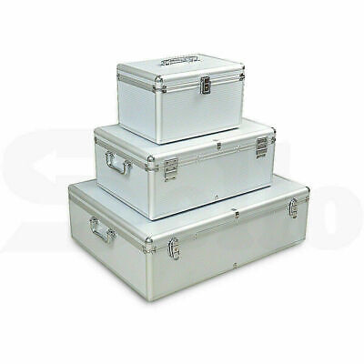 AU38.95 • Buy Aluminium CD DVD Bluray Storage Box Case - Holds 80, 120, 200, 600, 1000 Discs A