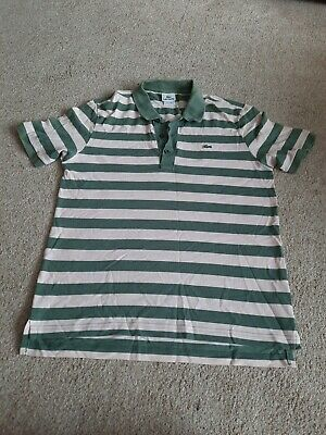Mens Lacoste Polo Shirt Size 4 • 3.20£