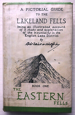 A Pictorial Guide To The Lakeland Fells.  Book 1.  The Eastern Hills • 0.99£