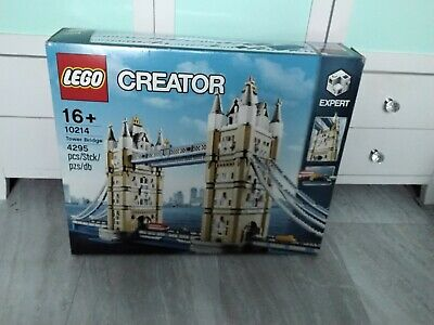 LEGO CREATER EXPERT 10214 London Tower Bridge Very Rare And Retired Product VGC • 300£