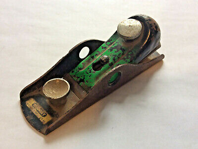 Vintage Stanley No.118 Low Angle Block Plane W/Decal. Parts Or Display • 7.17£