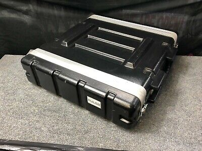 Pulse 2U ABS 19  Amplifier Rack Flight Case In Really Good Condition • 23£