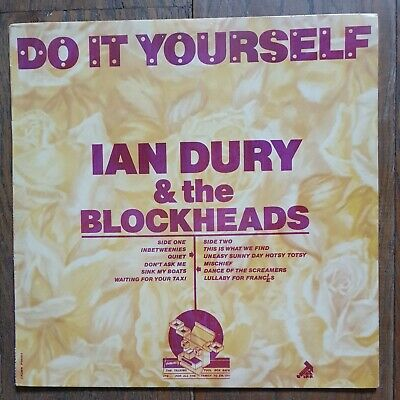 """Ian Dury And The Blockheads """"Do It Yourself"""" 1979 RARE Red Text & Purple Back • 0.99£"""