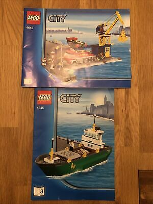 £65 • Buy LEGO City Harbour (4645) 100% Complete With Instructions- Great Set