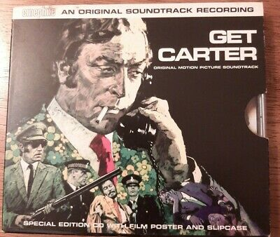 Roy Budd - Get Carter [1971) Special Edition CD With Film Poster And Slipcase  • 29.95£