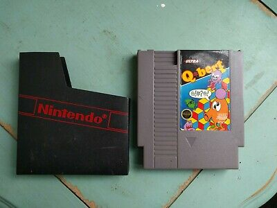 $ CDN19.03 • Buy Vintage Original Qbert Q*bert NIntendo NES With Nintendo Sleeve