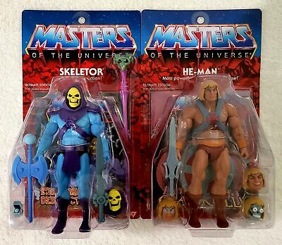$289.95 • Buy Super 7 Masters Of The Universe (motu) Ultimates He-man & Skeletor With Shipper!