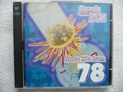 Time Life  Sounds Of The 70s  More Hits From 78  2-CD's 1978 • 11.19£
