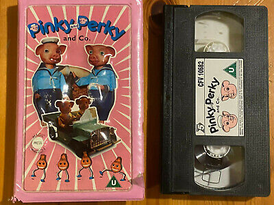 PINKY AND PERKY AND CO Childrens TV Series  VHS Video Pre Owned • 9£