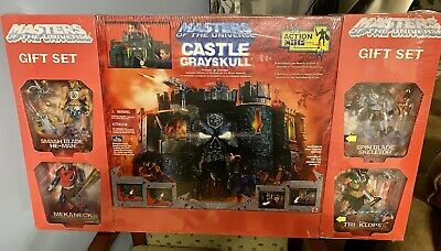 $425 • Buy Masters Of The Universe MOTU 200X MOC Castle Grayskull Gift Set W/ 4 Figures