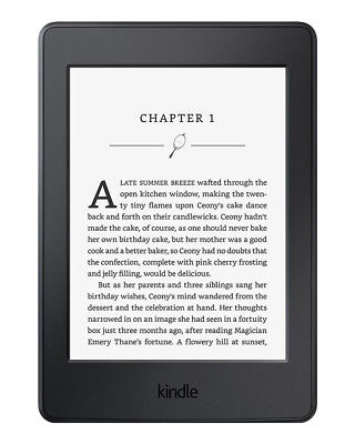 Kindle Paperwhite 7th Generation 4GB E-book Reader + 1490 Books Built In Light  • 65£