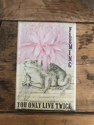 You Only Live Twice By Ian Fleming 1964 1st Edition 1st Impression Original DJ  • 46£
