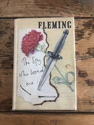 The Spy Who Loved Me By Ian Fleming 1962 1st Edition 1st Impression Original DJ • 78.10£