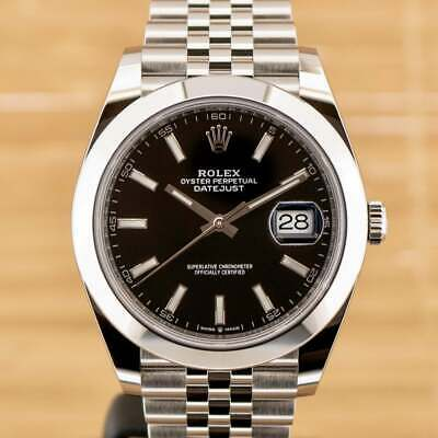 $ CDN13021.45 • Buy Rolex Datejust 41 - Unworn With Box And Papers 2021