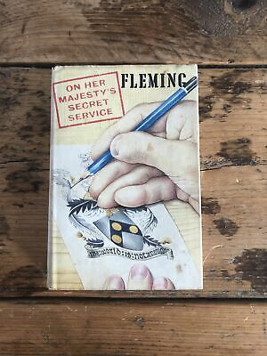 On Her Majesty's Secret Service Fleming 1st Ed 1st Imp Original DJ Jonathan Cape • 55.10£