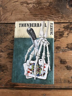 Thunderball By Ian Fleming 1961 1st Edition 1st Impression • 51£