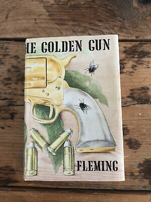 The Man With The Golden Gun By Ian Fleming 1965 1st Edition 1st Impression Cape • 50.10£