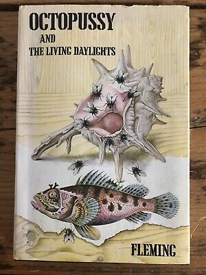 Octopussy And Living Daylights Ian Fleming 1965/66 1st Edition 1st Impression • 39£