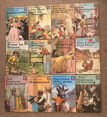 12 Vintage Ladybird 'Well Loved Tales' Books Series 606D  • 75£