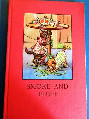 Vintage Ladybird Book.  Smoke & Fluff . Early 2/6d  Series 401. Hardback. • 1.50£