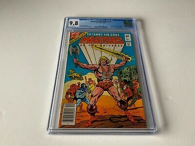 $611.99 • Buy Masters Of The Universe 1 Cgc 9.8 White Ps 1st Full Comic Mattel Dc Comics 1982