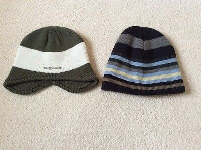 2 New Boys Beanie Hats (Dudeskin & Peter Storm Thinsulate) • 4.50£