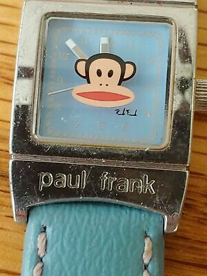 £3.58 • Buy Paul Frank Monkey Blue Watch For Parts