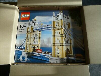 DO NOT BUY LEGO *NEW* 10214 Creator Tower Bridge 2010 See Pics  Box 8.5/10 • 300£