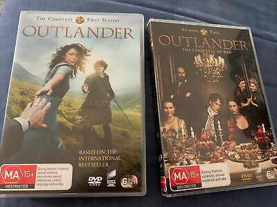 AU30 • Buy Outlander Complete Season 1 & 2 DVD