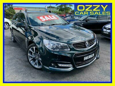 AU32950 • Buy 2014 Holden Commodore VF SS Green Automatic 6sp A Wagon