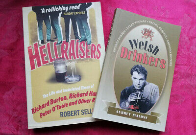 WELSH DRINKERS/HELLRAISERS- 2 X Paperbacks About Hard-drinkers - Xmas Gift!! • 5£