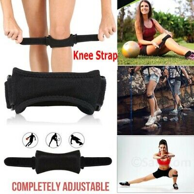 Patella Tendon Strap Knee Support Adjustable Jumpers Runners Pain Band Brace NHS • 3.59£