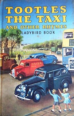 VINTAGE LADYBIRD BOOK.  TOOTLES THE TAXI  The 2/6 One. Series 413. Circa: 1970's • 1.50£