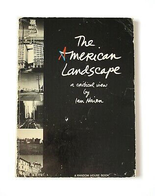 The American Landscape By Ian Nairn Random House First 1965 Paperback • 20£
