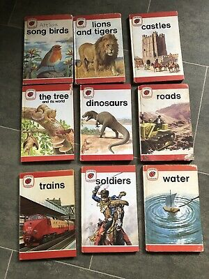 9 Vintage Ladybird Leaders Books  • 4£