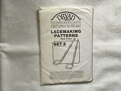 Pre-owned Dryad Lacemaking Patterns -raie Clare- Set 2 Bedfordshire Lace • 0.99£