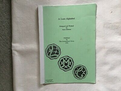 Pre-owned A Lace Alphabet Booklet- Published By Lacemakers Circle ( 1991 ) • 0.99£