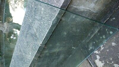 Ikea Rectangular Thick Piece Of Table Top Or Desk Top Glass • 10£