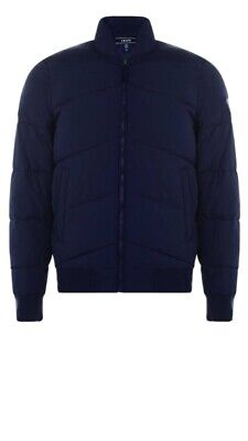 Izod By Lacoste Mens Padded Bomber Jacket ( New With Tags) • 19.99£