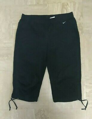 Ladies NIKE DRI-FIT 3/4 Shorts Size L (14-16) Good Condition  • 3.20£