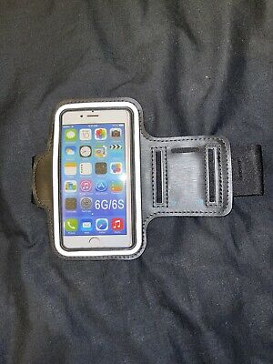 IPhone 6/6S Phone Holder Case Sports Gym Running Jogging Arm Band • 1.29£