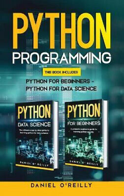 AU53.59 • Buy Python Programming: This Book Includes: Python For Beginners - Python For Data