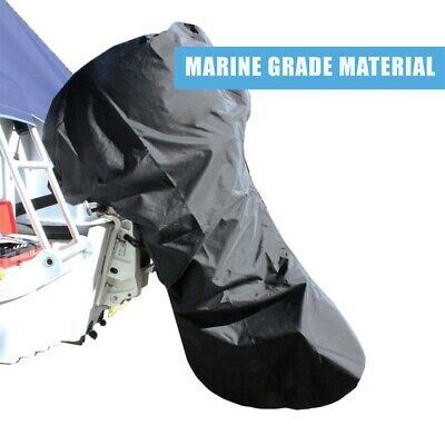 AU30 • Buy Trailerable Outboard Motor Cover 10-70HP - 600D Marine Grade Polyester